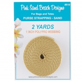 Purse Strapping - Sand