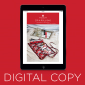 Digital Download - Zip N Roll Bag Pattern by Missouri Star