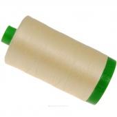 Aurifil 40 WT 100% Cotton Mako Large Spool Thread - Butter