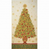 Winter's Grandeur 4 - Holiday Colorstory Tree Holiday Metallic Panel