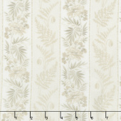 Regency Ballycastle Chintz 18th Century - Buncrana Off White Yardage
