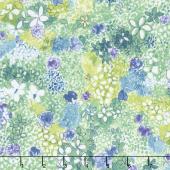 Petal Park - Wild Meadow Hydrangea Fabric Yardage