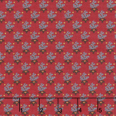 Bristle Creek Farmhouse - Fern Red Yardage