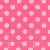 Sending Love - Dots Pink Yardage