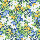 Summer Breeze V - Spring Garden Navy Yardage