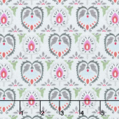 Botanical Oasis - Damask Green Yardage