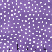 Garden Gathering - Dots Purple Yardage