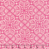 Sweet Pea & Lily - Fancy Medallion Rose Yardage
