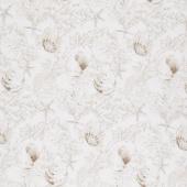 White Sands - Shells Neutral Digitally Printed Yardage