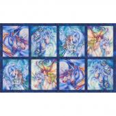 Morningmoon Unicorns - Unicorns Wild Digitally Printed Panel