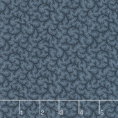 Portsmouth - Thorns Blue Navy Yardage