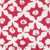 Kaffe Artisan Batik - Artisan Stars Red Yardage