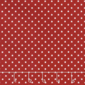 Celebrate America! - Mini Stars Red Yardage