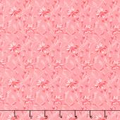 Secret Stash - Warms Buds and Vines Pink Yardage