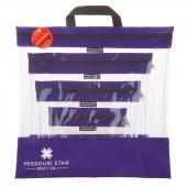 Missouri Star's SEEYOURSTUFF 4 Bag Set - Purple