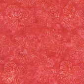 Tonga Batiks - Freedom Liberty Speckled Flowers Yardage