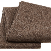 Wilmington Essentials - Leafy Scroll Mocha 3 Yard Cut