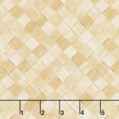 Magnolia - Basket Weave Khaki Yardage