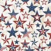 American Pride - Americana Stars Natural Yardage