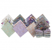 Lilac & Sage Metallic Fat Quarter Bundle