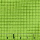 Local Color - Window Pane Green Yarn-Dyed Flannel Yardage