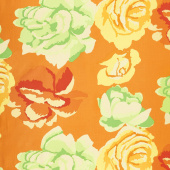 Kaffe Fassett Collective Fall 2017 - Sunrise Rose Clouds Gold Yardage