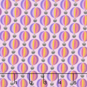 Suzy's Minis - Hot Air Balloon Lilac Yardage