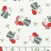 Sweet Christmas - Mr. Snowman Marzipan Yardage