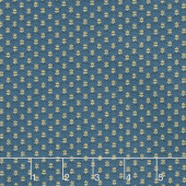Mrs. Miller's Apprentice - Quilting Bee Blue Yardage