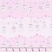 Twinkle Fairies - Twinkle, Twinkle Little Jars Starlight Yardage