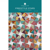 Freestyle Stars Quilt Pattern by Missouri Star