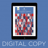 Digital Download - Patchwork Tumbler Quilt Pattern by Missouri Star