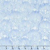 Indigo Morris Batiks - Fountain Whip Cream Yardage