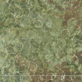 Splendor Batiks - Curves Moss Yardage