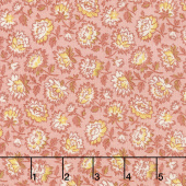 Bed of Roses - Geranium Primrose Yardage