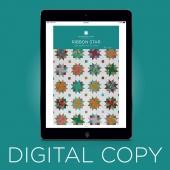 Digital Download - Ribbon Star Quilt Pattern by Missouri Star