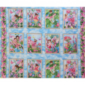 Whisper Flower Fairies - Fairy Whispers Multi Panel