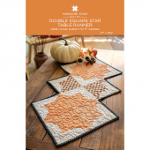 Double Square Star Table Runner Quilt Pattern by Missouri Star