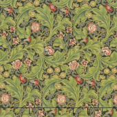 Morris Holiday 1912 - Leicester Ebony Metallic Yardage