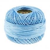 Presencia Perle Cotton Thread Size 8 Medium Baby Blue