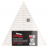 "Creative Grids Triangle Squared Ruler 9-1/2"" Quilt Ruler"