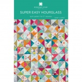 Super Easy Hourglass Quilt Pattern by Missouri Star