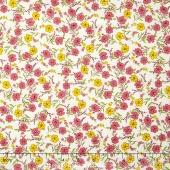 Aunt Grace - Floral Pink Yardage