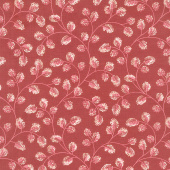 Sweet Sixteen - Cotton Vine Burgundy Yardage