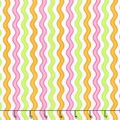 Confetti - Wavy Stripe Multi Yardage
