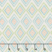 Humming Along - Diamond Geometric Tan Yardage