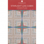 Starlight Log Cabin Quilt Pattern by Missouri Star