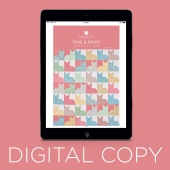 Digital Download - Pins & Paws Quilt Pattern by MSQC