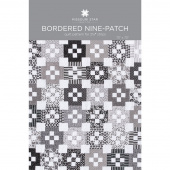Bordered Nine-Patch Quilt Pattern by Missouri Star