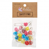 EverSewn Heart Shape Safety Pins 20ct